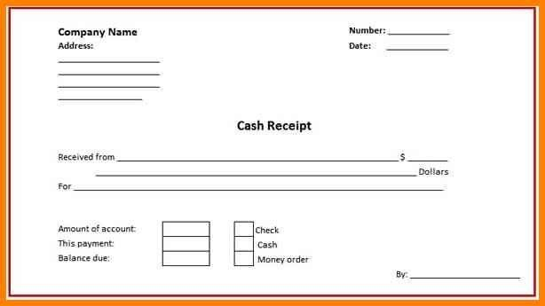 Cash Payment Receipt Cash Payment Receipt For Word Word Excel - payment receipt sample