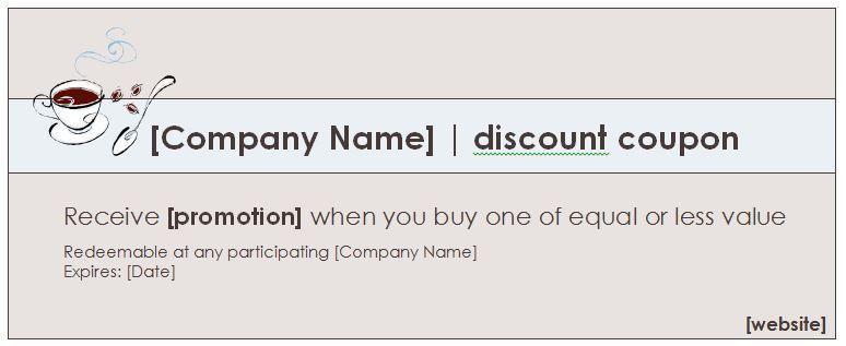 Word Template Coupon 21 Word Coupon Templates Free Download Free - free coupon template