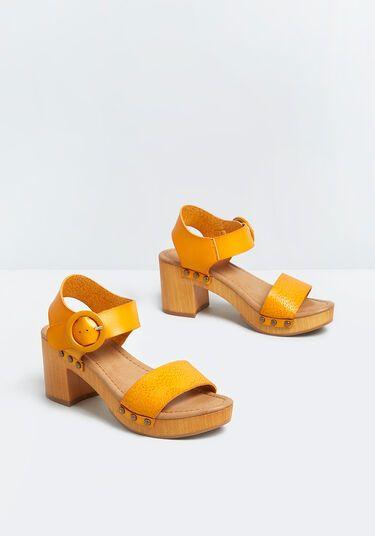 Summer Stunner Ankle Strap Heel
