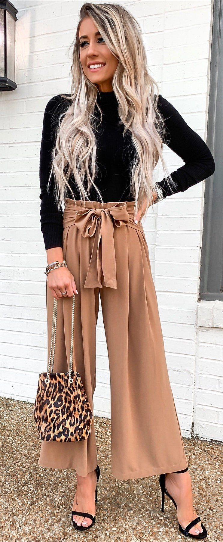 brown sleeveless dress #winter #outfits