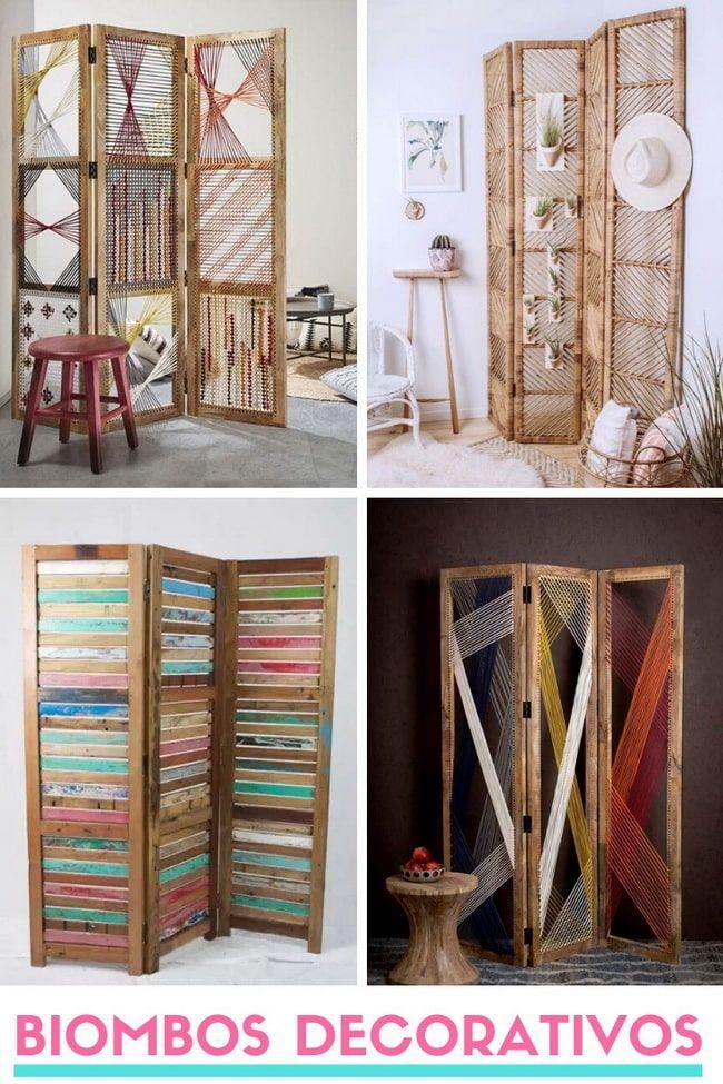 Biombos decorativos para el hogar