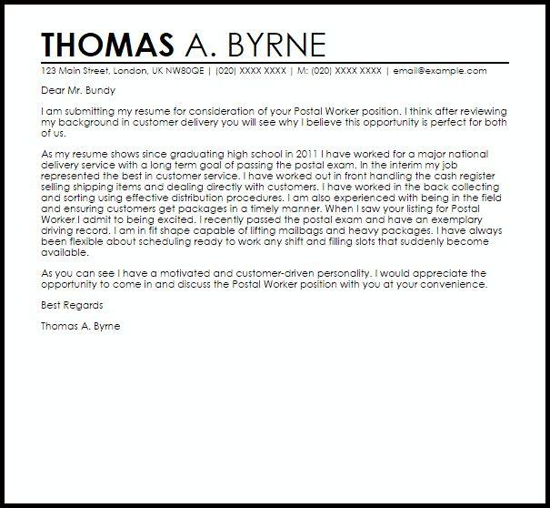 Cover Letter For Us Postal Service Job Rome Fontanacountryinn Com