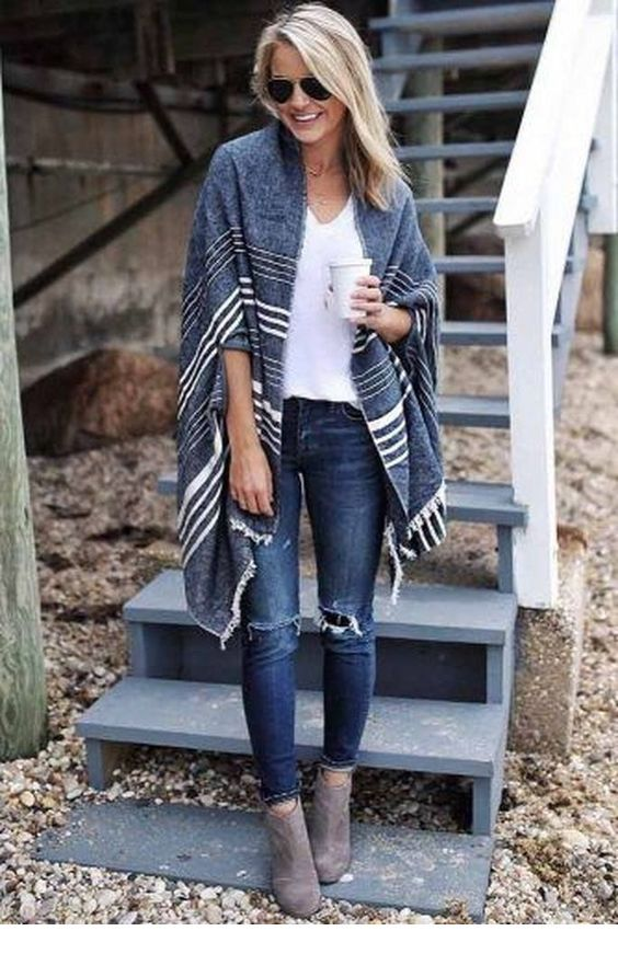 Nice big scarf as a cardi