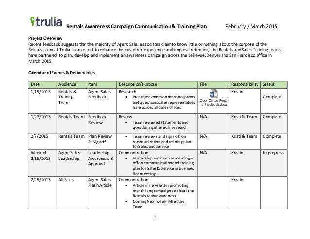 Training Plan Template Training Plan Template 16 Download Free - sample training calendar