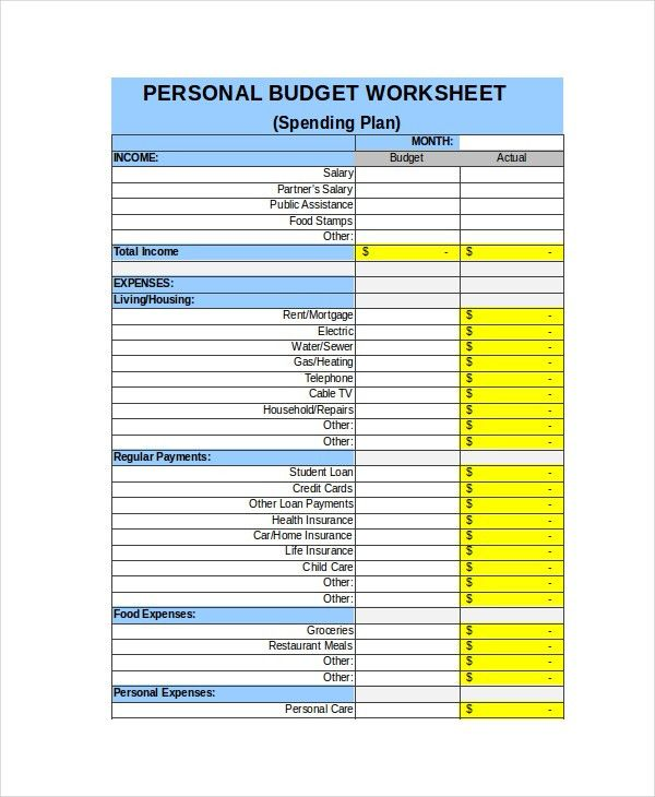 Weekly Expense Sheet Weekly Budget Planner And Money Manager - spending plan template