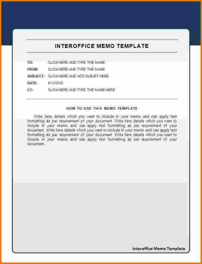office memo template free