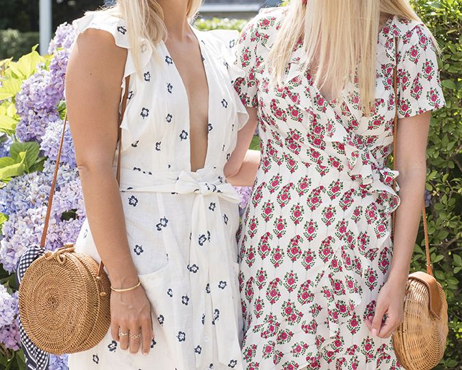 prettiest wrap dresses on
