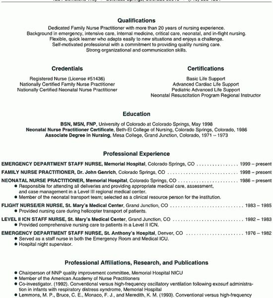 Flight Nurse Sample Resume] Example Of Rn Resume Example ...