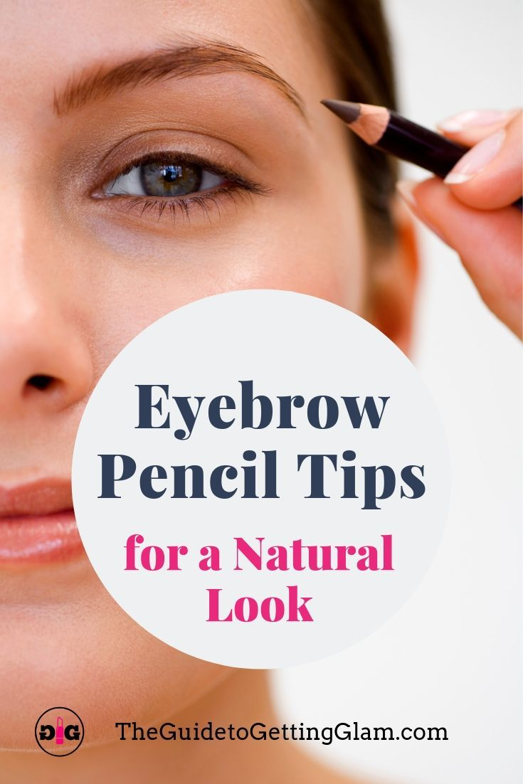 Click to read these Pro Makeup Artist Tips for how to use your eyebrow pencil to create a natural, long-lasting look. #eyebrowpenciltutorial #eyebrowpencil #howtouseeyebrowpencil
