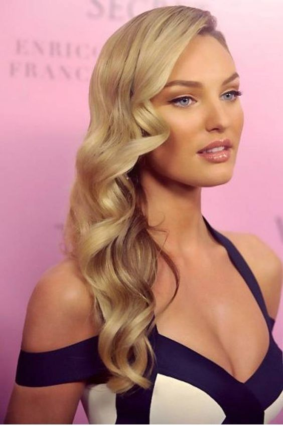 Perfect blonde curls