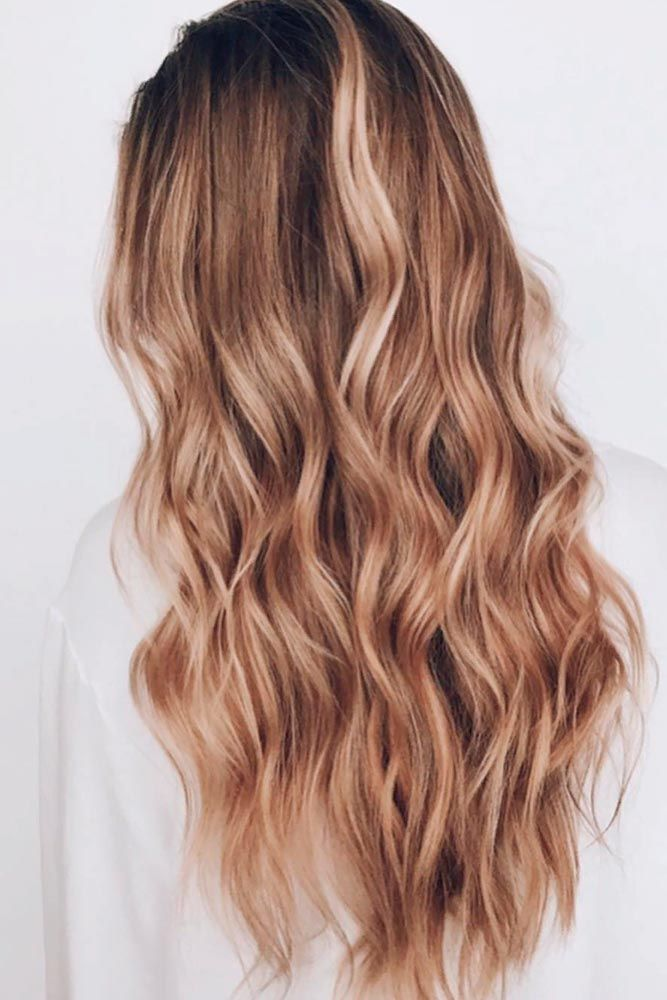 Sandy Brown #longhair #wavyhairstyles ★ Brown hair is often considered to be understated, but we think it is stunning and sexy. See these 20 sultry shades of brown for summer fun in the sun! #glaminati #lifestyle #brownhair