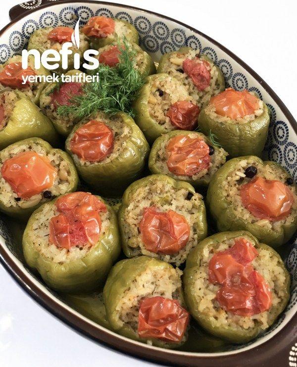 Zeytinyağlı Biber Dolması - Nefis Yemek Tarifleri - #6879364