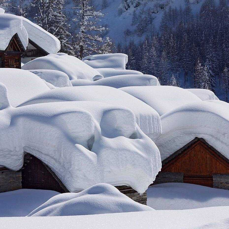 Too much snow?