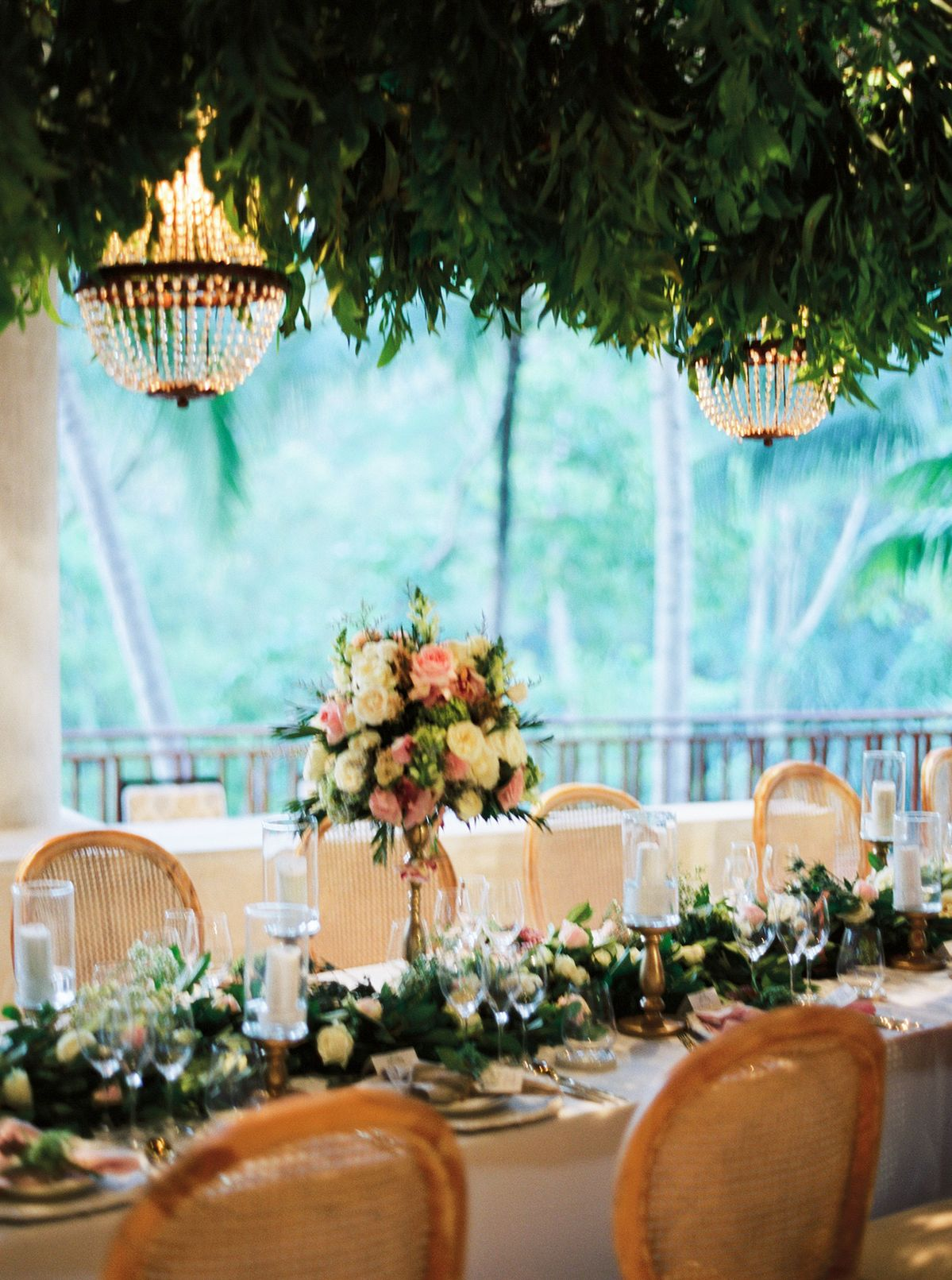 Glamorous Greenery and Floral-Filled Tropical Wedding in Bali - MODwedding