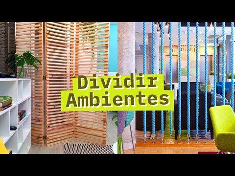 5 FORMAS DE DIVIDIR AMBIENTES PEQUENOS - YouTube