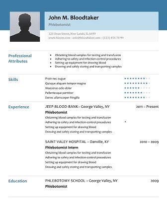 Phlebotomy Resume Sample Phlebotomist Resume Sample Download 10
