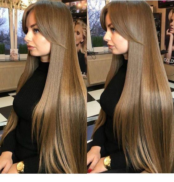 Glam long hair, very long hair