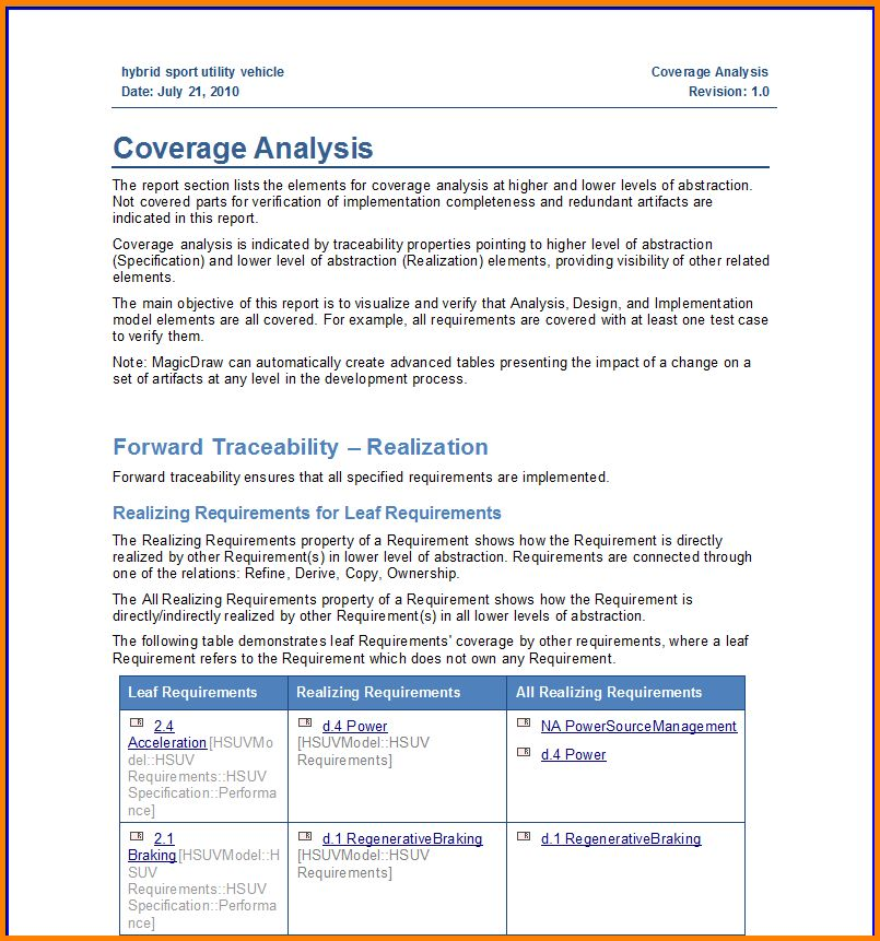 Formal Business Report Template 17 Business Report Templates Free - company report template