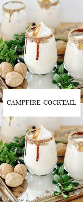 CAMPFIRE COCKTAIL #Drinks #Cocktail -