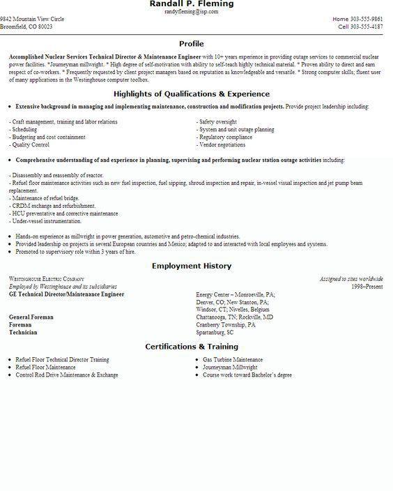 building maintenance sample resume building maintenance resume - Building Maintenance Engineer Sample Resume