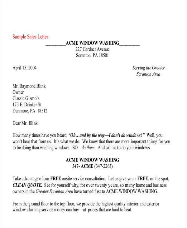 business letter for quotation free sample letters