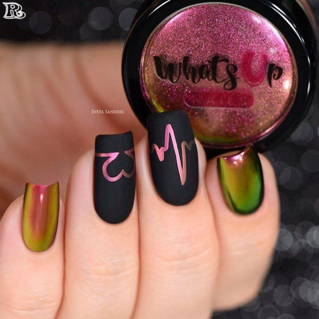 The best 35 Chrome Nail Polish 2018 – Reny styles