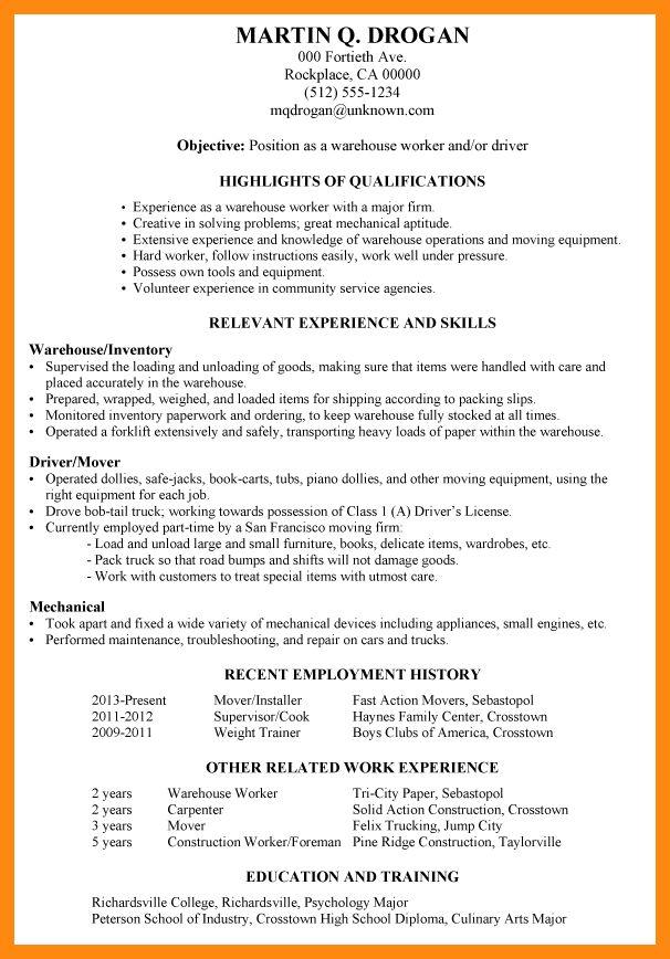 forklift repair sample resume node2004-resume-template