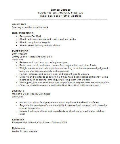 ... Kitchen Manager Resume Sample Job Description Of A Cook In A   Kitchen  Manager Resume ...