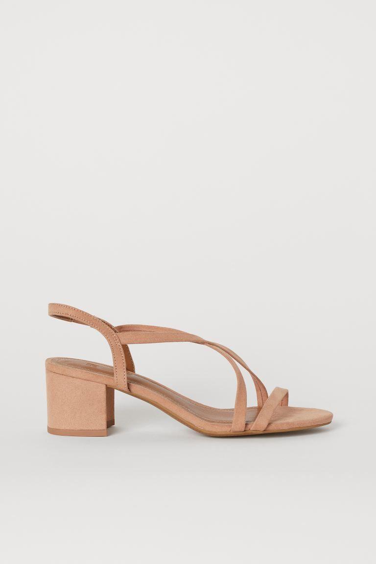 Sandaletten - Puderrosa - Ladies | H&M DE