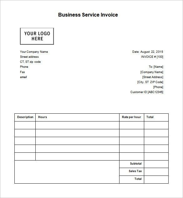 examples of receipts