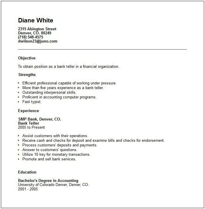 Example Resume Objectives How To Write A Career Objective On A - resume objective for accounting