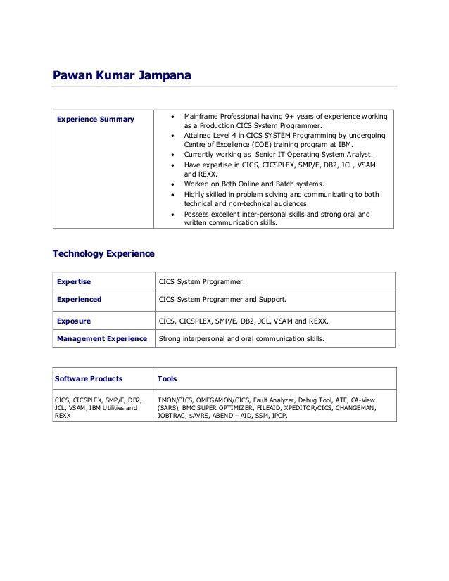 System Programmer Job Description | Plainresume.co