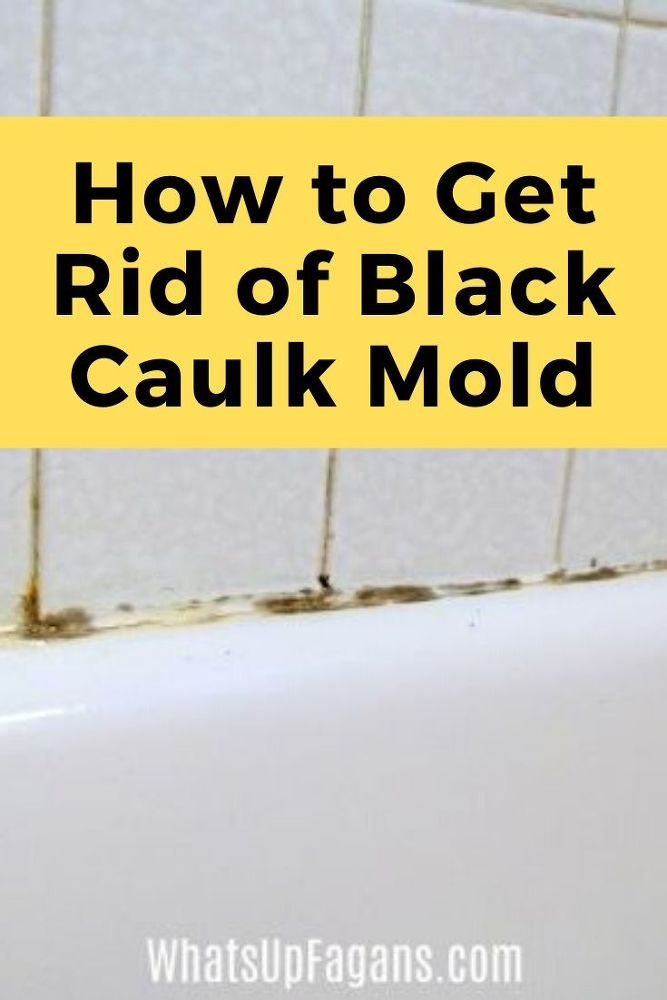 How to Get Mold Out of Shower Caulk