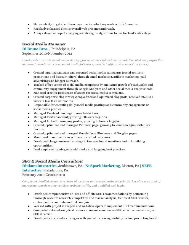 Affiliate Manager Resume Professional Affiliate Marketing Manager - marketing manager resume