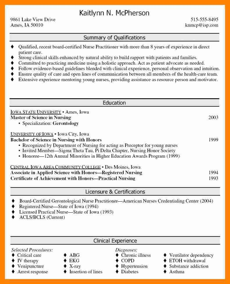 professional summary resume