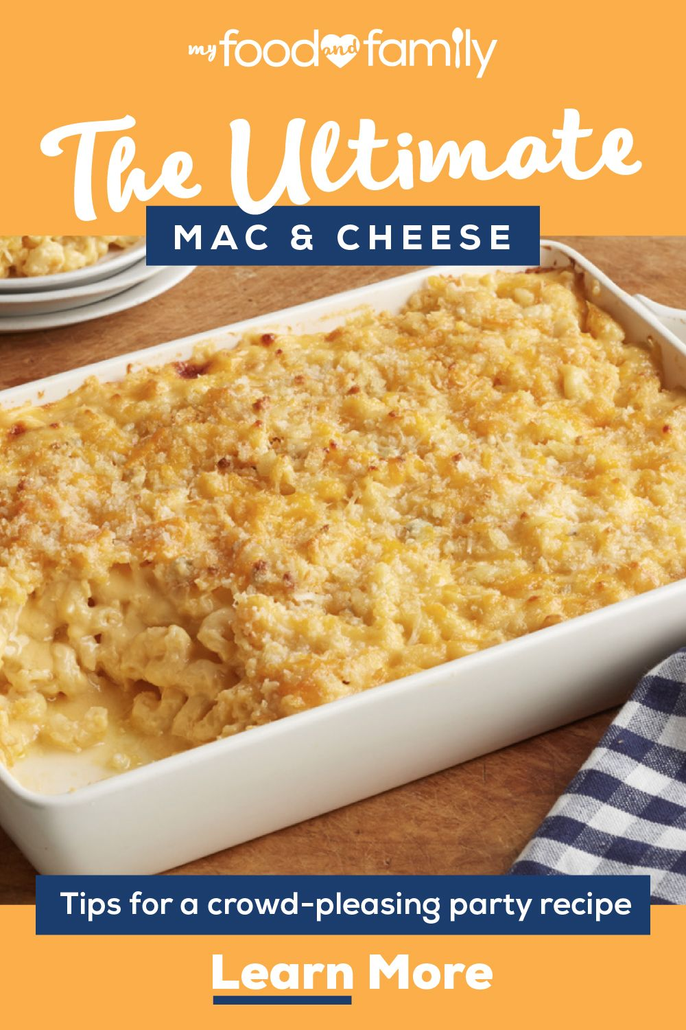 The Ultimate Crowd-Pleasing Mac and Cheese for a Party