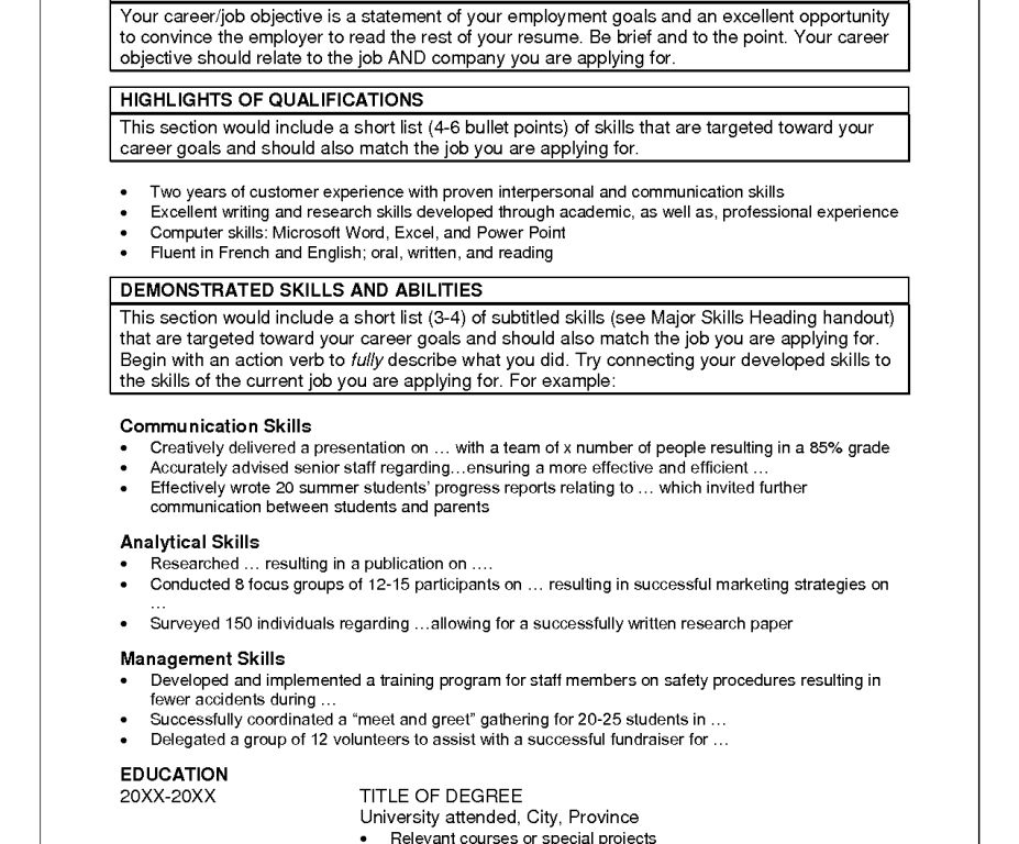 Resume Examples Summary Of Qualifications Resume Sample Hair - summary of qualifications resume examples