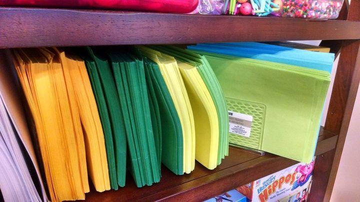 Unusual paper organizer