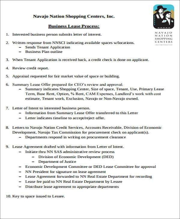 Letter Of Intent To Rent 10 Business Letter Of Intent Templates - rent with option to buy contract
