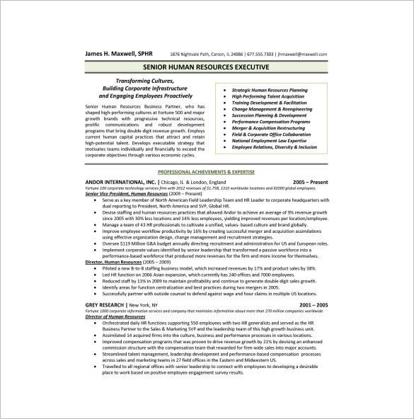 Free One Page Resume Template 41 One Page Resume Templates Free - examples of one page resumes