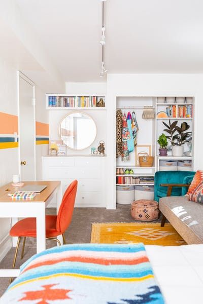 How to Make Over Guest Room into Multifunctional Space | Brit + Co