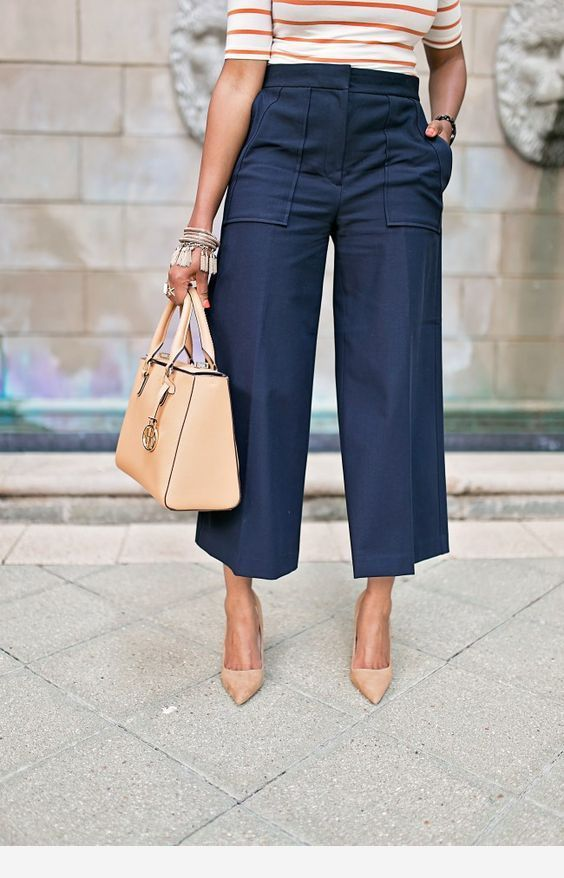 Nice navy pants for work