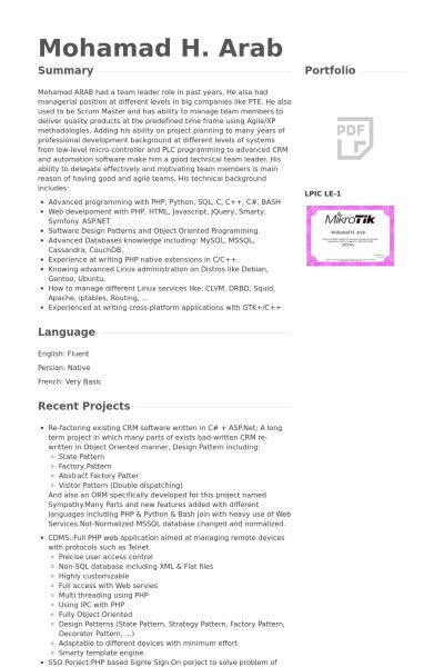 Web Developer Resume Sample] Unforgettable Web Developer Resume .  Python Developer Resume