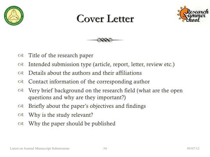 cover letter journal submission sample   node2002-cvresume ...