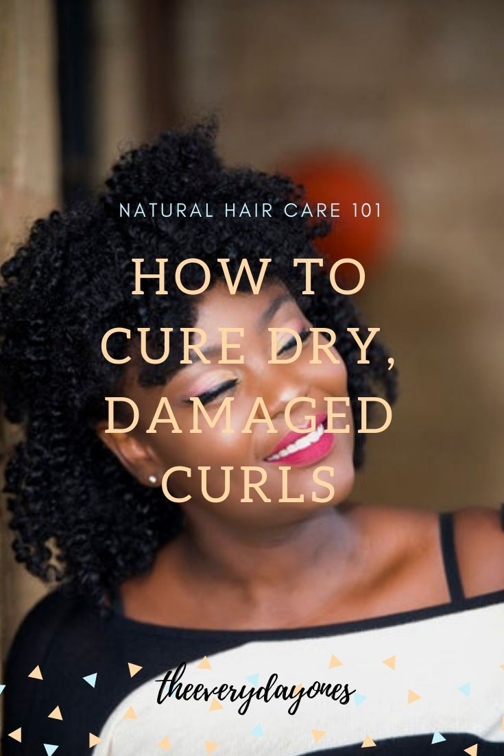 Your natural hair is dry, sis! Here's how to fix it. #naturalhair #blackhair