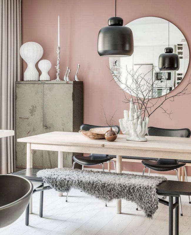 Une décoration moderne avec du rose | My Blog Deco