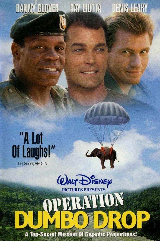 Operation Dumbo Drop (1995) Walt disney movies, Disney