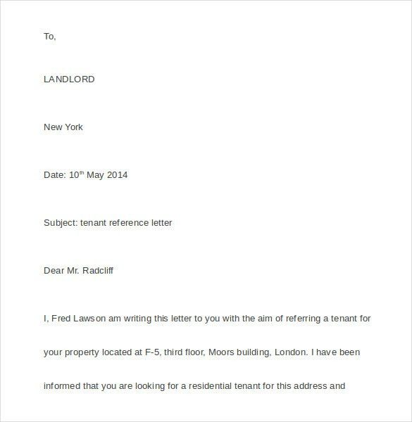 References Letter Template Reference Letter Template 37 Free