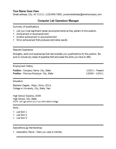 lab manager cover letters