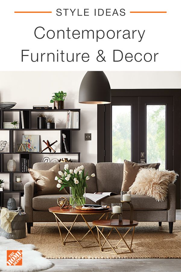 The Home Depot has a wide assortment of living room styles from contemporary and modern to glam and bohemian. Make your space fit your style. Shop our seamless online experience and explore selection of stylish and quality products at affordable prices. Free delivery on select items over $45. Click through to shop all our living room furniture, available online at The Home Depot.